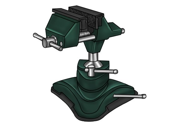 vacuum base multi-angle vice
