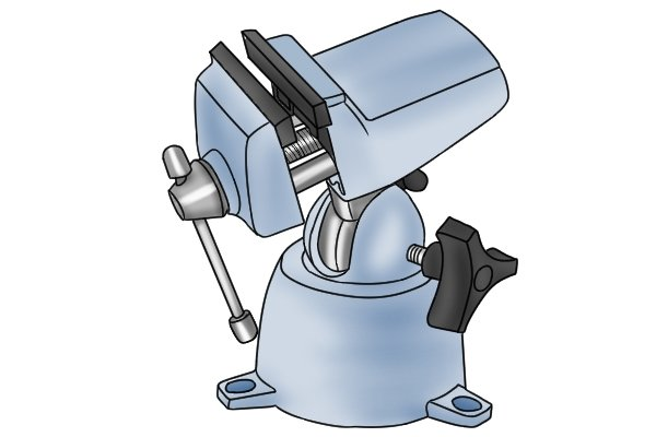 bolted multi-angle vice