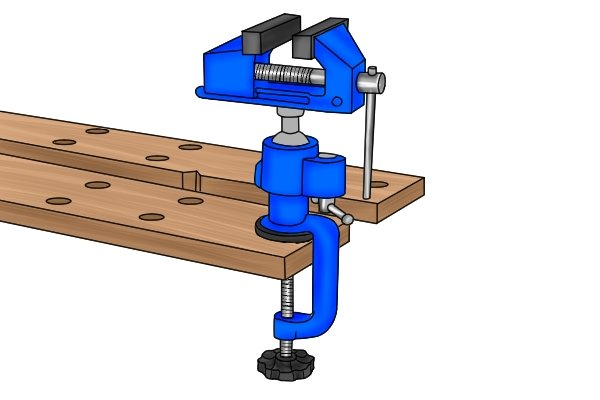 table multi-angle vice