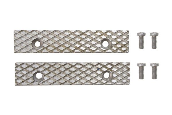 replaceable steel jaws