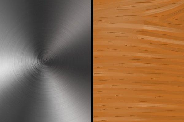 metal vs. wood
