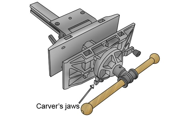 carver's jaws