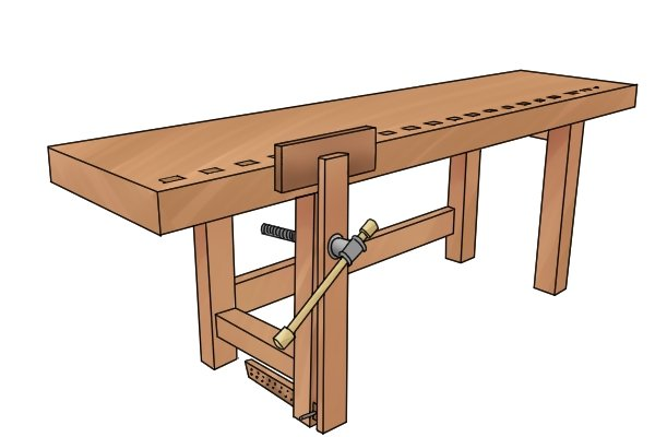 attaching legs bench easy plans leg wood ca us billy construction work woodworking uk workbench
