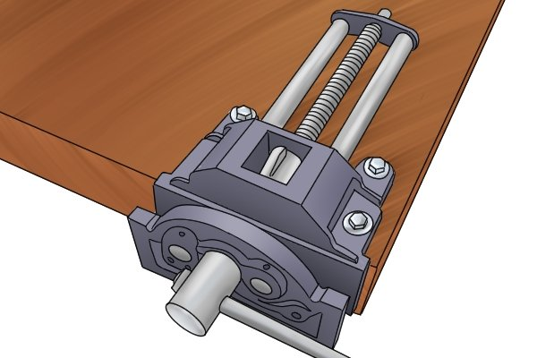 mounting a vice