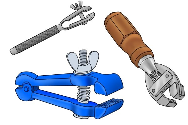 different types of hand-held vice