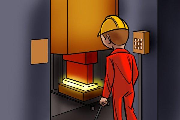forging steel process