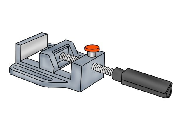 quick-release drill press vice