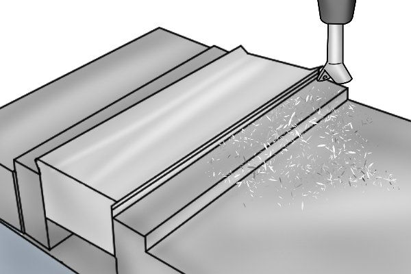 milling dovetail joint