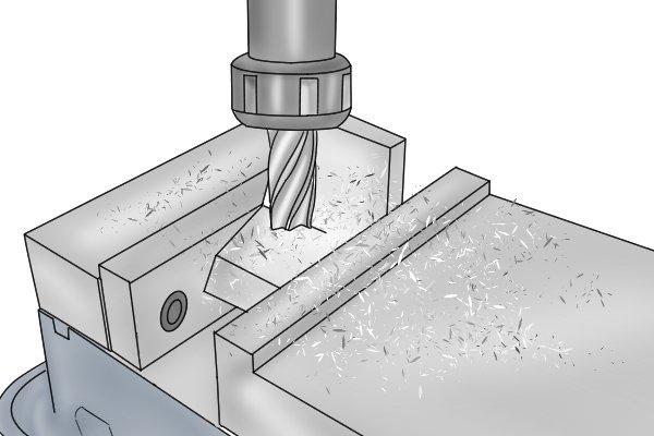 milling vice clamping metal