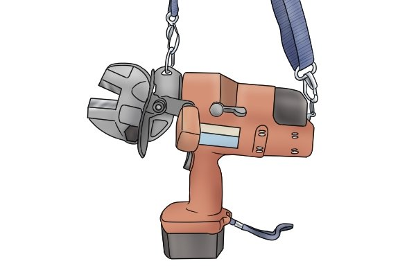 Hydraulic bolt cutters with conventional jaws