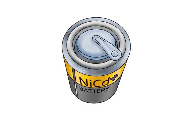 Nickel cadmium battery was developed in 1958.