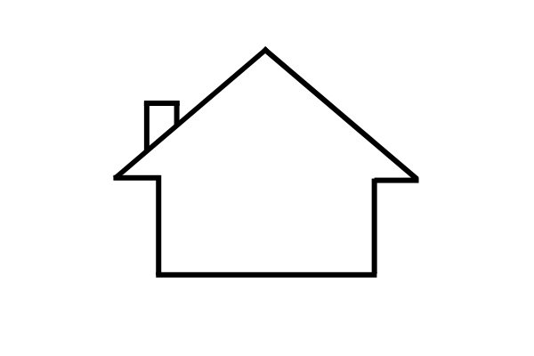 House symbol shows that the battery or charger is for indoor use only.