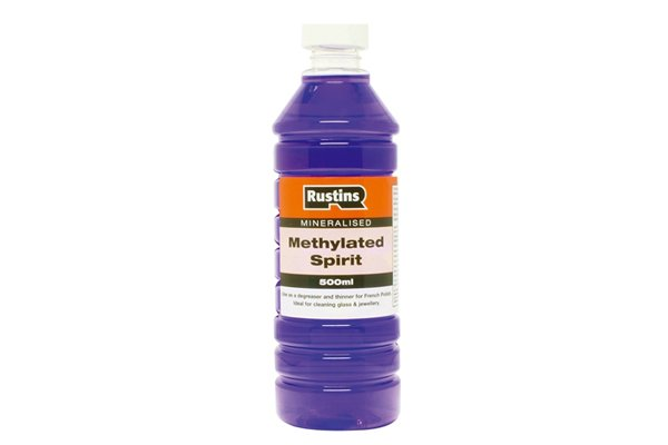 Methylated spirits works well to remove sticky substances from diagonal side cutting pliers, nippers, cutters.