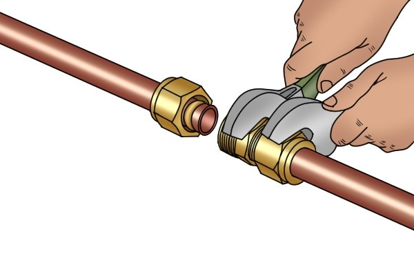 Spanners are small fixed size hand tools to tighten and loosen nuts and bolts.