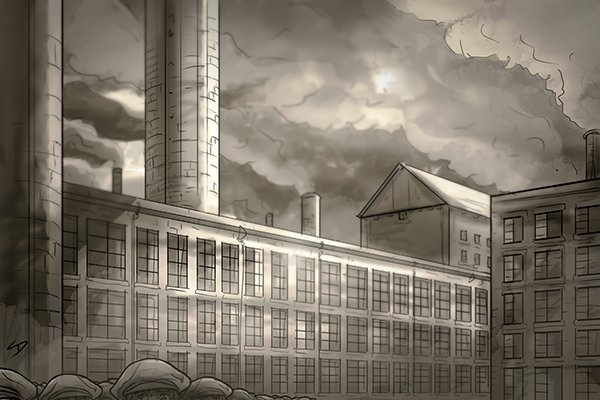 Industrial revolution factories could produce standardised fasteners and spanners.