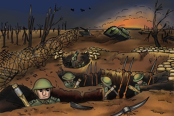 Second world war introduced a different standard to reduce the amount of metal used in the fasteners.