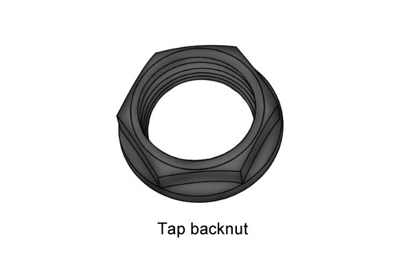 Tap back nuts are often fitted and removed using box spanners during plumbing.