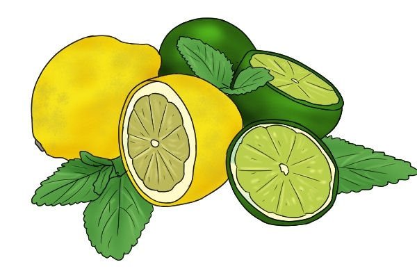 Lemon or lime juice helps remove rust from iron steel of spanners