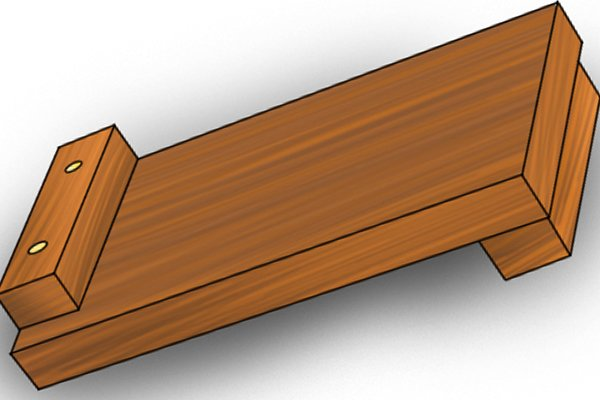 Base of bench hook