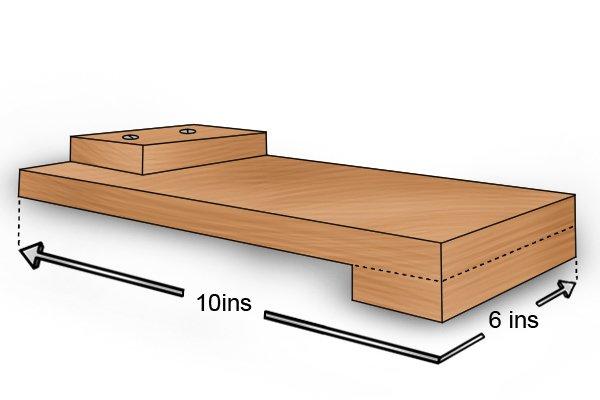 Average sized bench hook