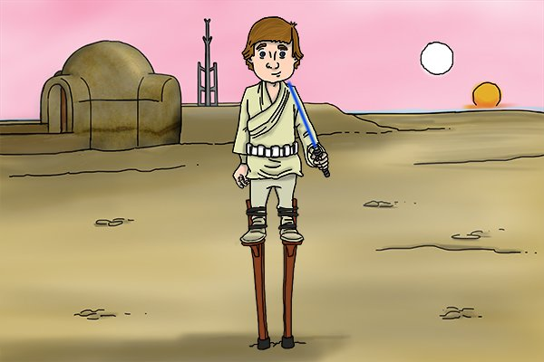 luke skywalker, plasterers stilts, skywalkers, dura stilts, poles tools wonkee donkee