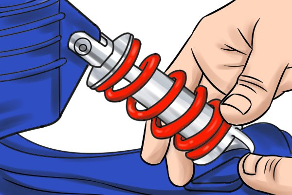 adjust the tension spring ankle coil, plasterers stilts, dura stilts, skywalkers, wonkee donkee, DIY tools guide