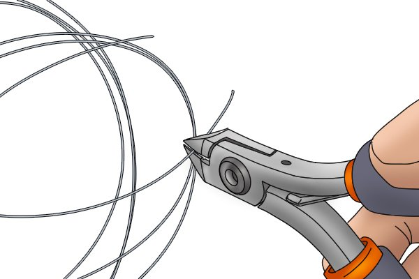 "Smaller wire cutters are known as ""nippers"" and can often be operated in one hand"