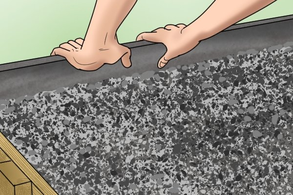 How to float concrete