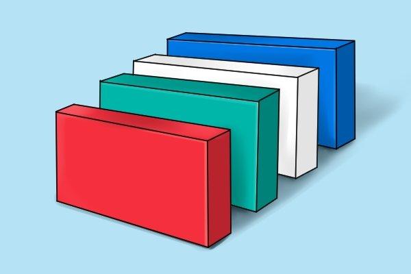 Plastic rectangles