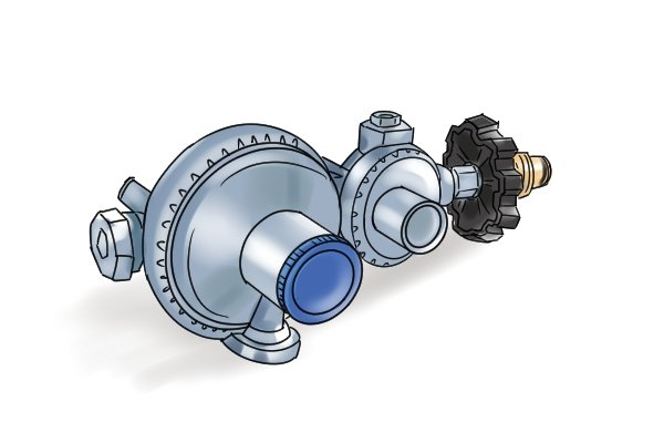 Why do you sometimes need more than one gas regulator?
