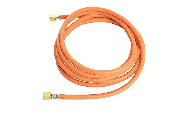 Orange gas hose assembly