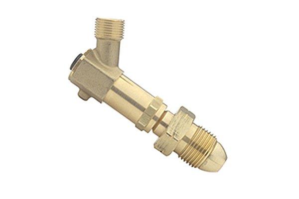 Brass hose failure valve