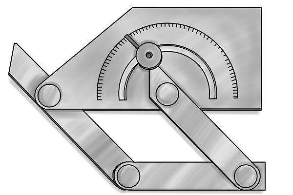 Another type of bevel protractor