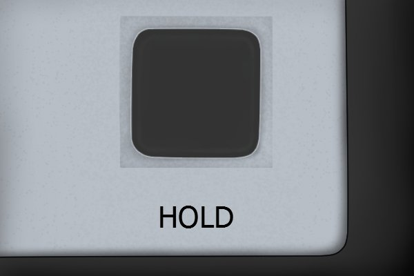 """The """"hold"""" button; digital protractor, digital angle gauge"""
