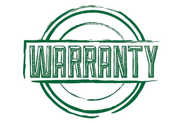 A warranty seal