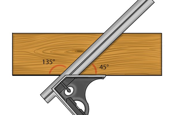 how to join 45 degree angle wood