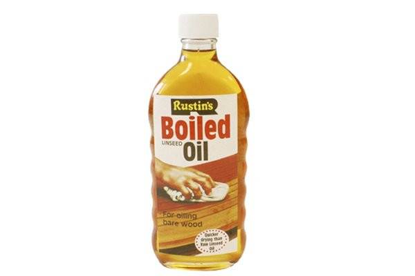Image of a bottle of boiled linseed oil