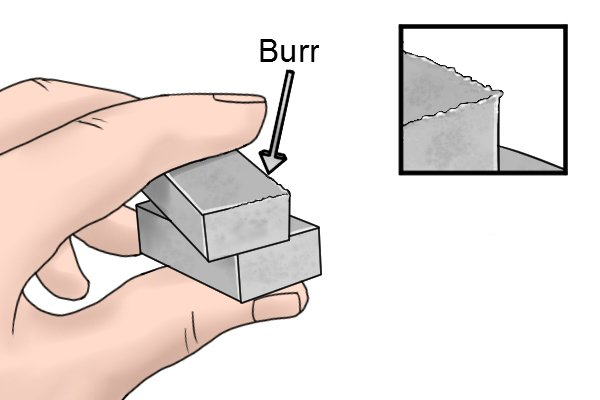 Image to illustrate what burr is