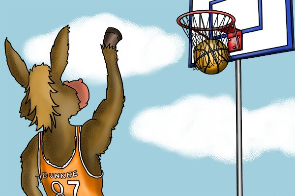WONKEE DONKEE dreams of basketball stardom