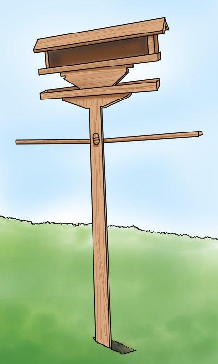 Mounted Birdfeeder