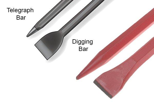 Telegraph & Digging Bars