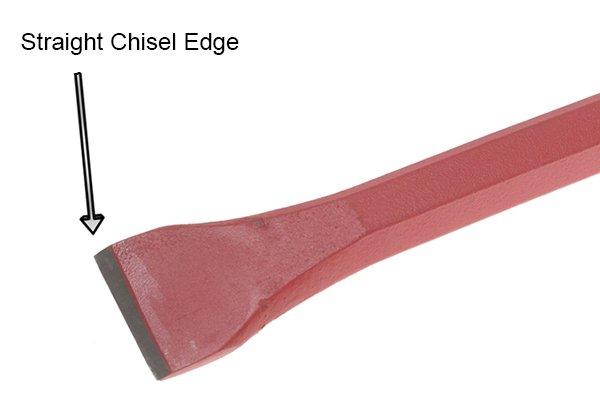 Chisel edge