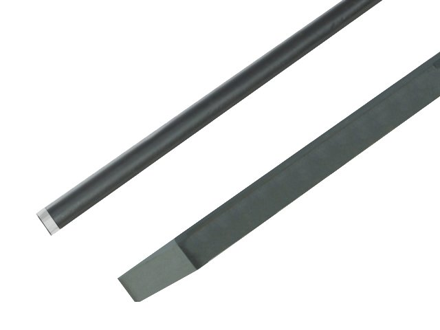 Bent chisel bar