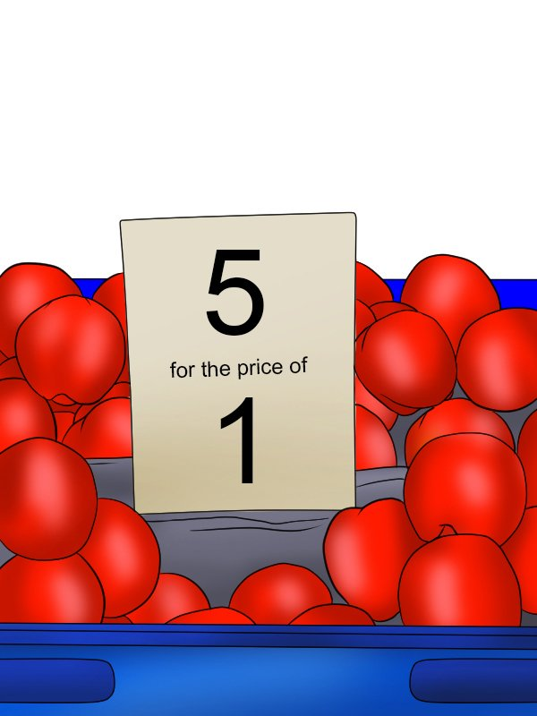Image showing a 5 for 1 market trader sign to illustrate the value of having 5 tools all in one