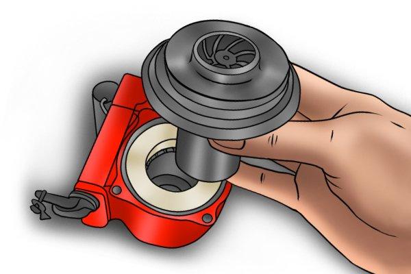 Image depicting an circulator pump impellor