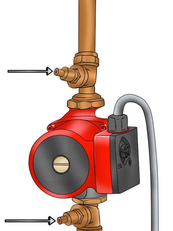 How to replace a boiler pump head