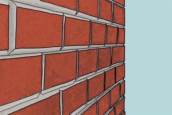V Joint Brickwork