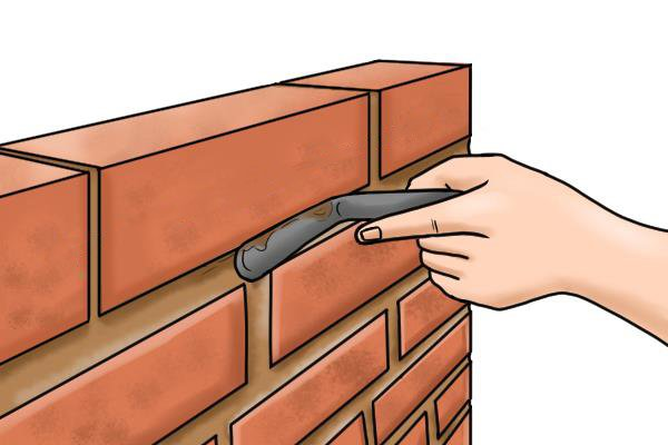 What are brick jointers used for for Uses for a brick