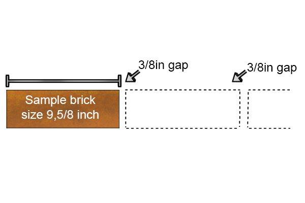 Sample brick size