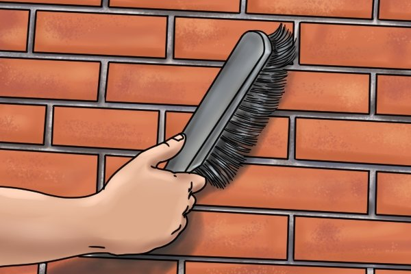 Brushing Brickwork